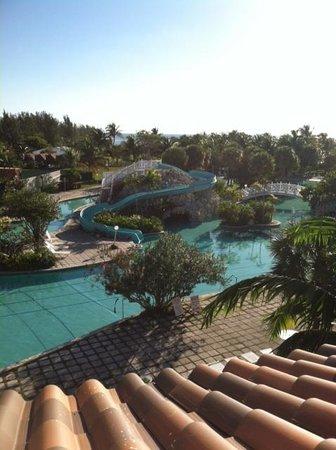Taino Beach Resort & Clubs : A SERIOUS water slide