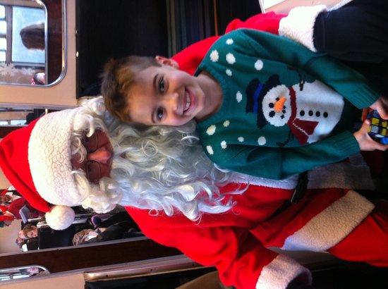 Swanage Railway: Meeting Santa on Swanage Steam Train