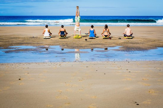 Orange Surf School: surf&yoga