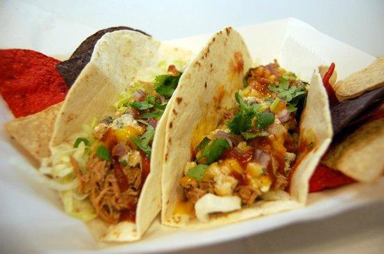 Ancho Burrito Company: Chicken Tacos