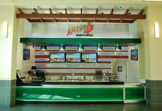 Ancho Burrito Company: Front of Restaurant