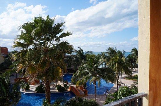 Fiesta Americana Villas Cancun: Vista da sacada do quarto - quarto superior