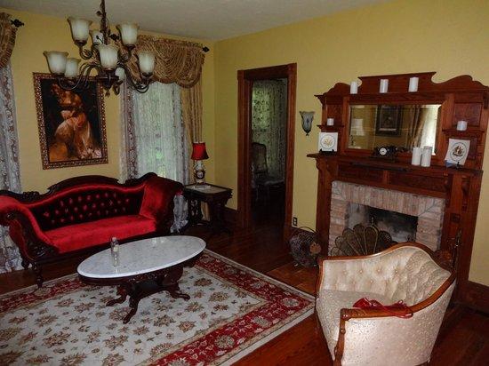 The Ann Stevens House: The main living area.