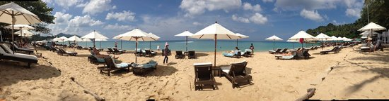 Twinpalms Phuket: Beach at the Beach club