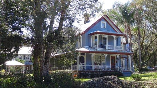 The Ann Stevens House: The main residence.