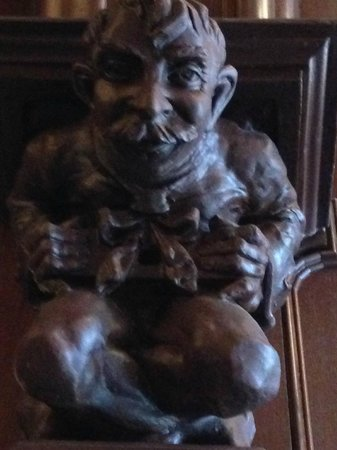 The Skirvin Hilton Oklahoma City: This gargoyle looks like Will Rogers