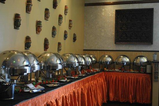 Aasna Melange of India: Buffet