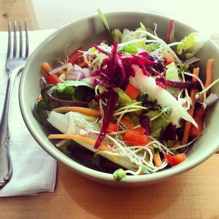 Crowsnest Cafe and Fly Shop: oriental salad