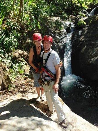 Adventure Park and Hotel Vista Golfo : 11 Waterfall Canopy Tour at Adventure Park & Hotel Vista Golfo - Mirimar, Puntarenas, Costa Rica