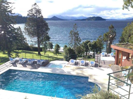 Charming Luxury Lodge & Private Spa: Vista desde la habitación