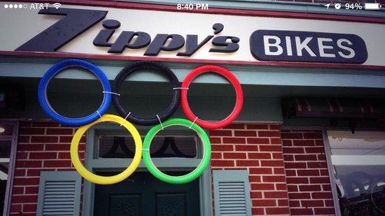 Zippy's Bikes: Go USA!!!