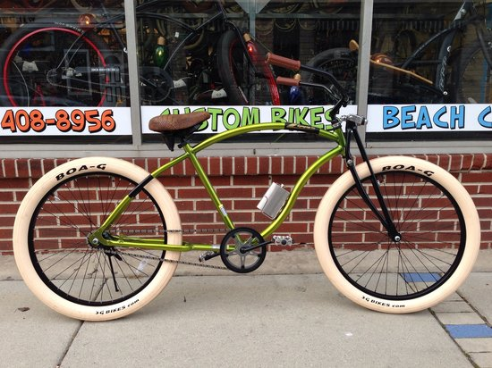Zippy S Bikes Custom Beach Cruisers