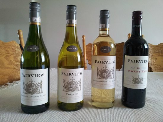 Fairview Wine and Cheese: Spoils of the trip