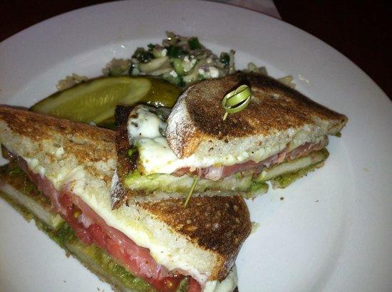 City Cellar Wine Bar & Grill: Chicken Saltimbocca Sandwich