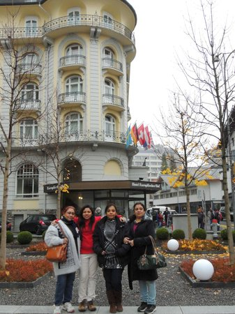 Europaeischer Hof Hotel Europe : outside our hotel