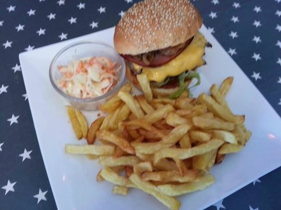 hamburger et frites maison photo de crazy burger ForCrazy Burger Yvetot