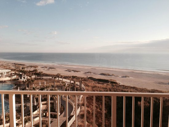 Omni Amelia Island Plantation Resort: view from our room on the 5th floor