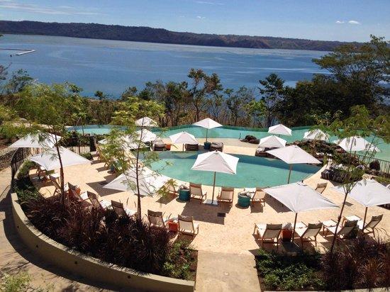 Andaz Peninsula Papagayo Resort : Pool area