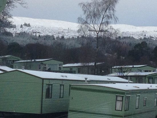 Hunters Quay Holiday Village: Snowy !