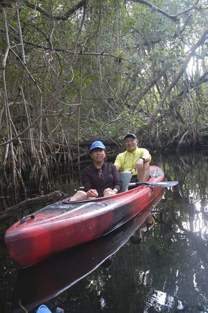 Tour The Glades - Private Wildlife Tours: Us in a twoman kayak