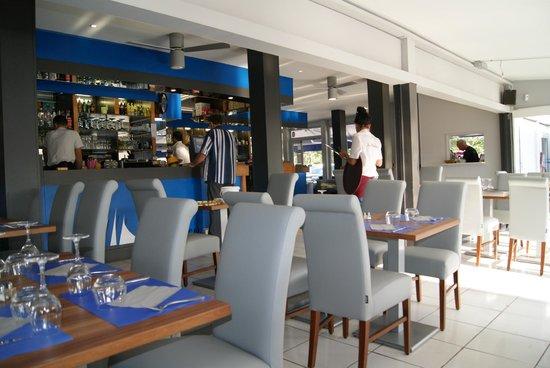 Restaurant Les Voiliers: intérieur du resto