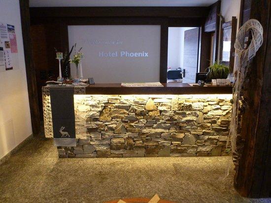 Hotel Phoenix : Reception