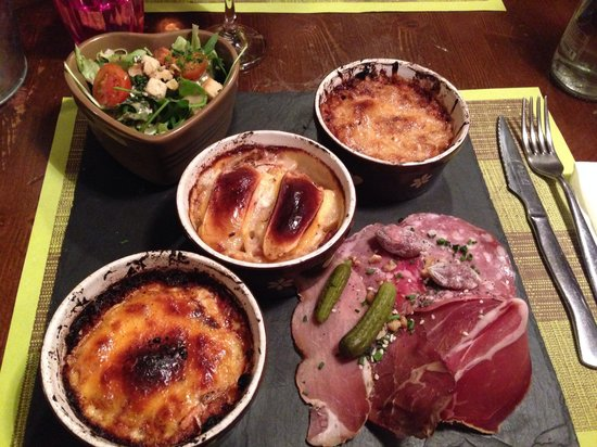 Restaurant L'Alpin: Trio savoyard