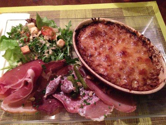 Restaurant L'Alpin: Gratin de creuzet