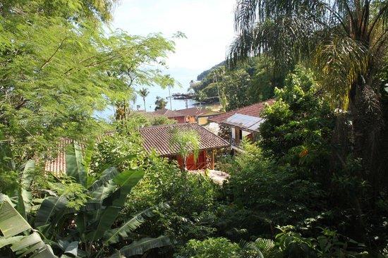 Pousada Naturalia: vue du balcon ch4