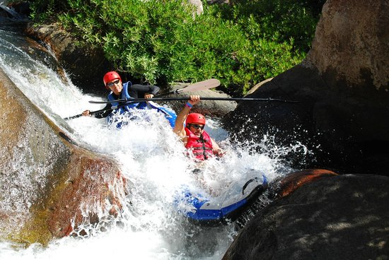 Canyon de la Vieja Lodge : Rafting