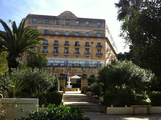 The Phoenicia Malta: The Hotel from the Garden