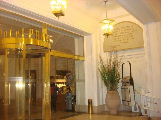 The Phoenicia Malta: Main Entrance