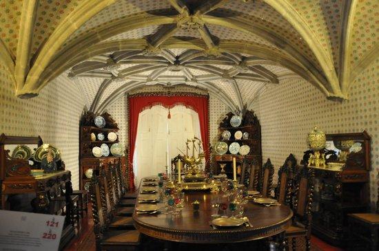 Palacio Nacional de Sintra: interieur palais