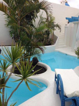 Katis Villas Boutique Fuerteventura: swimming pool in your private garden