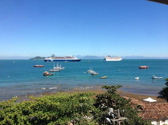 Hotel El Cazar : Океан