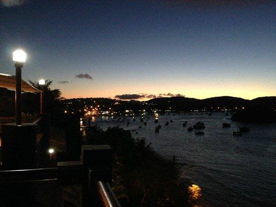 Hotel El Cazar : Вечерний город