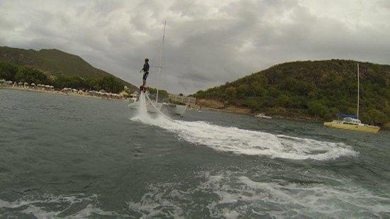 St. Kitts Kiteboarding School: Gettin the balance!