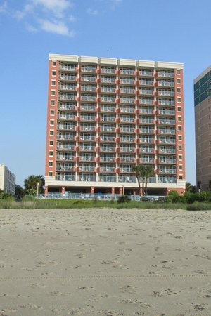 Roxanne Towers: View from the beach