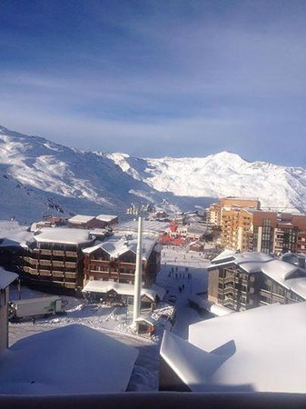 Langley Hotel Tango : Lovely morning, rise and shine to hit the slopes