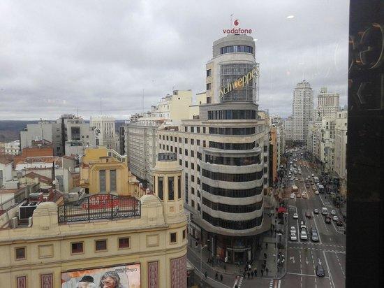 Best Western Hotel Los Condes : esta centrico un minuto corte ingles muy buenas vistas