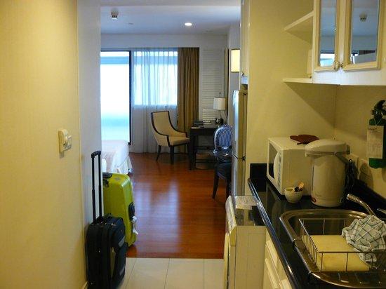 Centre Point Silom : kitchenette