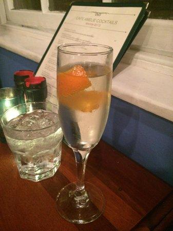 Cafe Amelie: The Amelie and Orange Blossom Cocktails