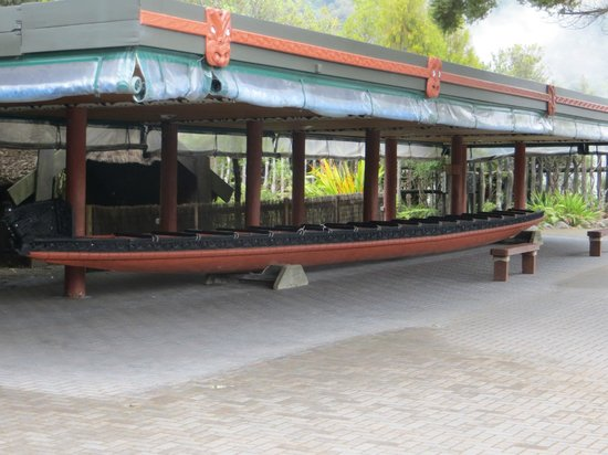 Hand carved canoe picture of te puia rotorua tripadvisor