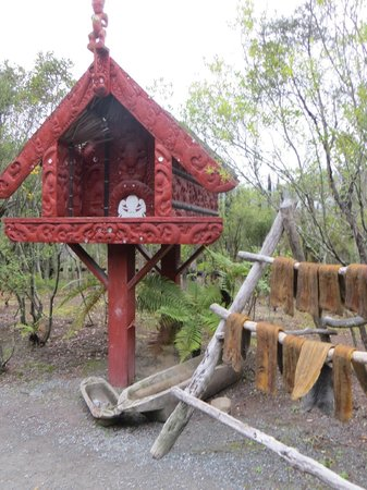 Te Puia: One corner of the little village