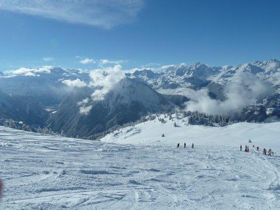 La Plagne Ski Resort: La Plagne area