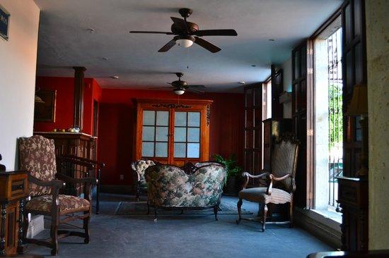 Los Abolengos Grand Class Casona Hotel en Tequila: Recepción
