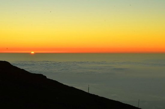 Haleakala Crater: And then sun is gone ...