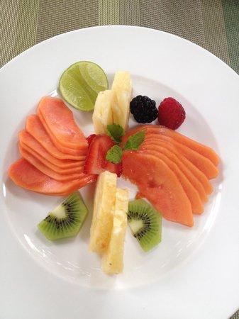 Anticavilla Restaurant: Fruit Platter