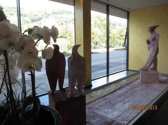 Hotel Therme Meran: Вестибюль