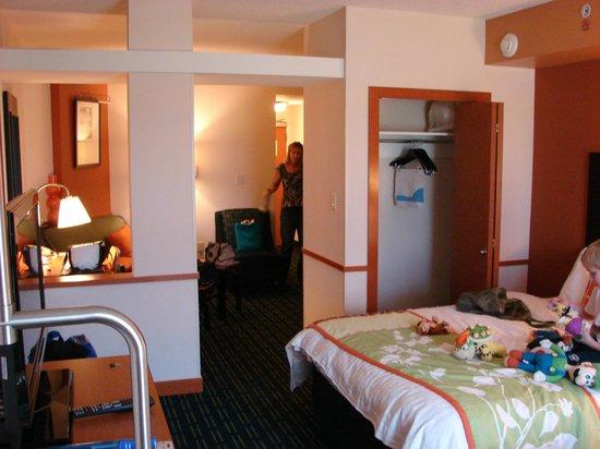Fairfield Inn & Suites Orange Beach: suite